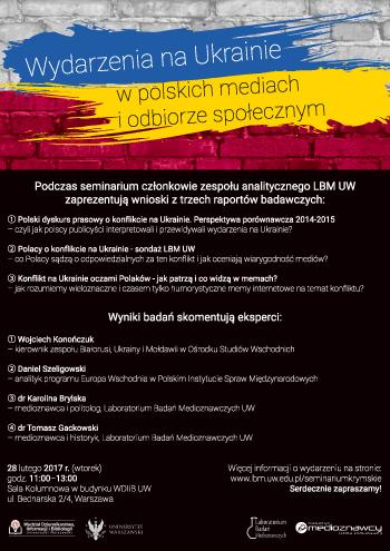 seminarium plakat